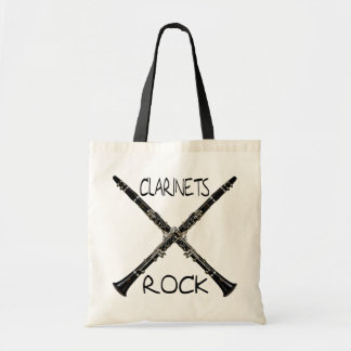 Clarinets Rock Tote Bag