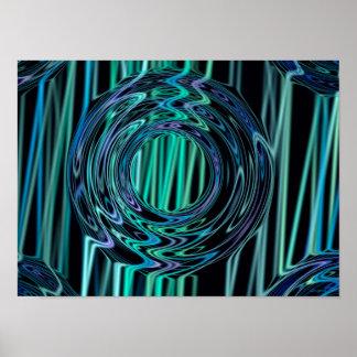 Clarity Generative Art Print