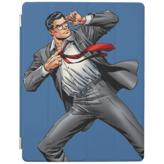 Clark changes into Superman iPad Cover