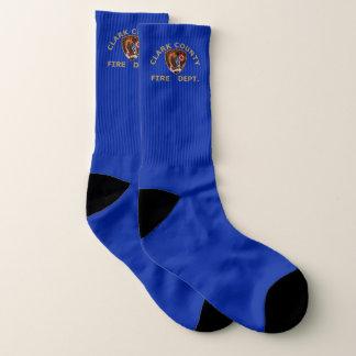 Clark County Nevada Fire Department Socks