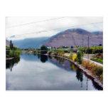 Clark Fork Missoula River Postcard