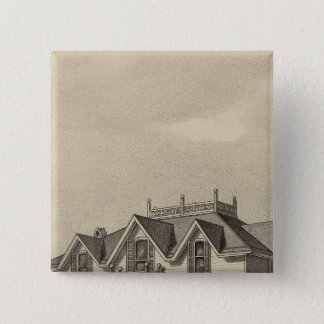 Clark Residence, Wallace, Kansas 15 Cm Square Badge