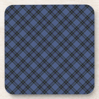 Clark Scottish Clan Tartan Coasters