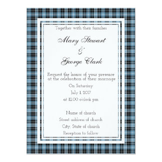 Clark Scottish Wedding Invitation