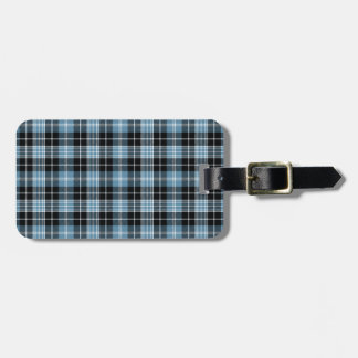 Clark Tartan Pattern Luggage Tag