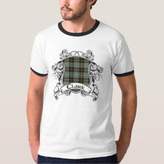 Clark Tartan Shield T-Shirt