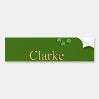 Clarke Family Bumper Sticker
