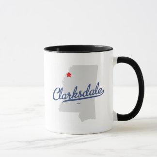 Clarksdale Mississippi MS Shirt Mug