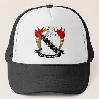 Clarkson Family Crest Trucker Hat