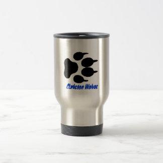 Clarkston Wolves wolf print mug