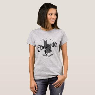 Clarksville Cats Across the River Women's Shirt BW