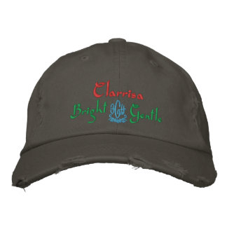 Clarrisa Name With English Meaning Nickel Embroidered Baseball Cap