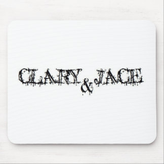 Clary and Jace Mouse Mat
