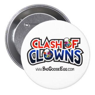 Clash Of Clowns Button