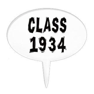 Class 1934 cake topper