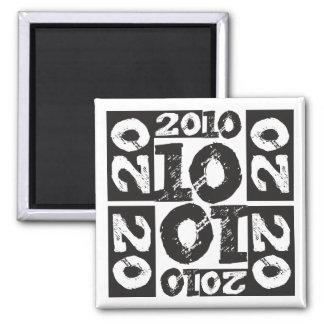 Class 2010 fridge magnet