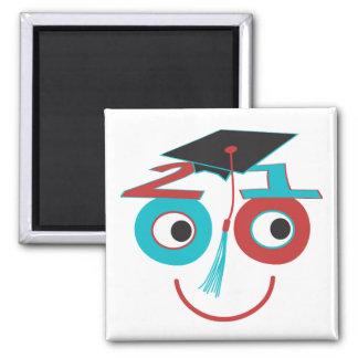 Class 2010 Grad Dude Fridge Magnets