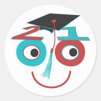 Class 2010 Grad Dude Sticker