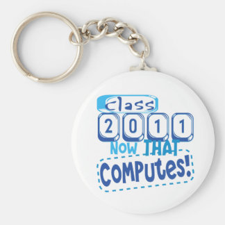 Class 2011 Now that Computes Keychain