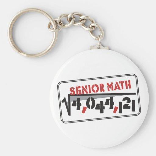 Class 2011 Senior Math Keychain