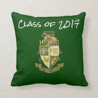 Class  2017 Slidell High Tigers Graduation Pillow