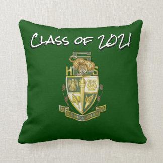 Class  2021 Slidell High Tigers Graduation Pillow