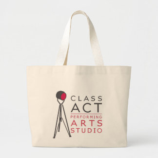 Class Act large tote Canvas Bag