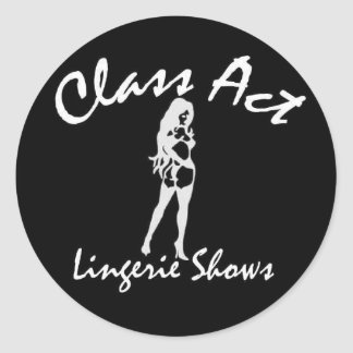Class Act Stickers