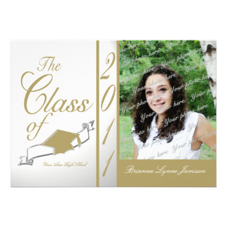 Class Graduation 2011/ soft gold Announcement