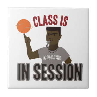 Class in Session Small Square Tile