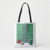 Class literal Class Design Tote Bag