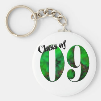 Class of 09 Button #2 (Customizable) Basic Round Button Key Ring