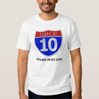 Class of 10 Road Sign Light T-Shirts