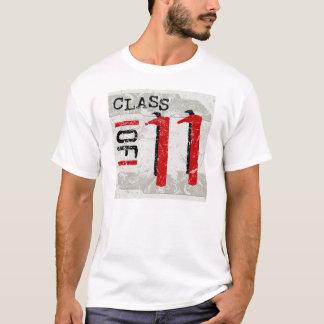 Class of 11 Grunge Light T-Shirts