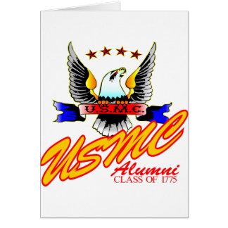 Class Of 1775 USMC Alumni Eagle Card