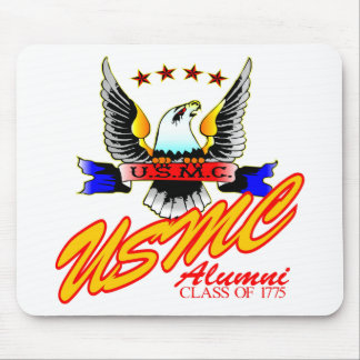 Class Of 1775 USMC Alumni Eagle Mouse Pad