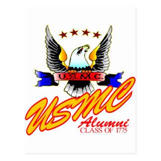 Class Of 1775 USMC Alumni Eagle Postcard