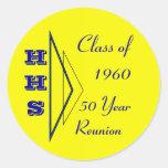 class of 1960 reunion sticker