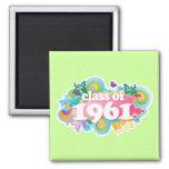 Class of 1961 fridge magnets