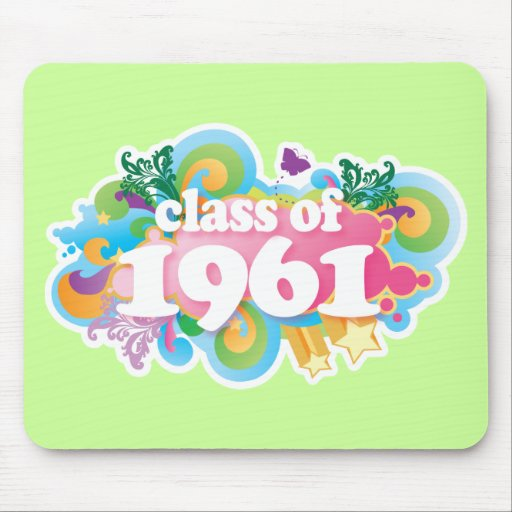 Class of 1961 mouse pad