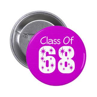 Class of 1968 Button