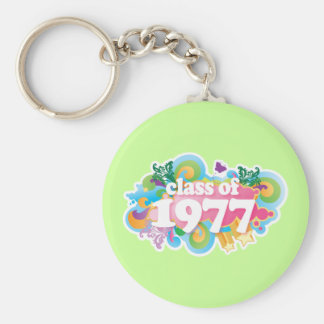 Class of 1977 key chain