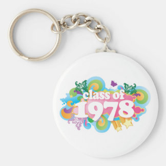Class of 1978 key chains
