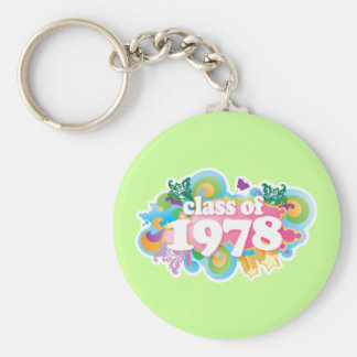 Class of 1978 key chain