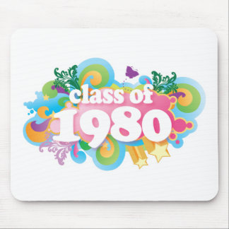 Class of 1980 mouse pad