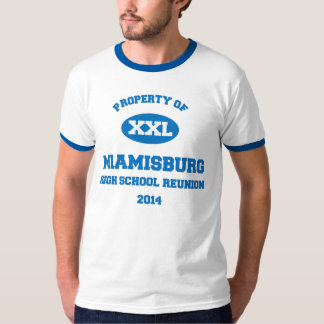 Class of 1984 Miamisburg High School Reunion Tshirt