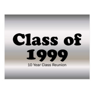 Class of 1999 10 Year Reunion Postcard