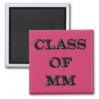 Class of 2000 magnet