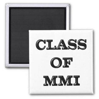Class of 2001 magnet