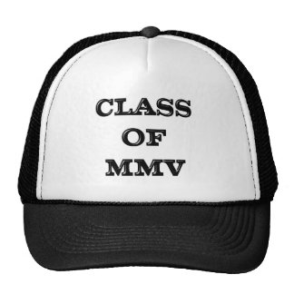 Class of 2005 cap
